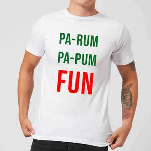 Pa-Rum Pa-Pum Fun Men's T-Shirt - White