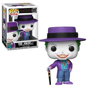 Joker mit Hut DC Comics Batman 1989 Pop! Vinyl Figur