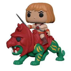 Masters of the Universe He-Man on Battle Cat Funko Pop! Ride