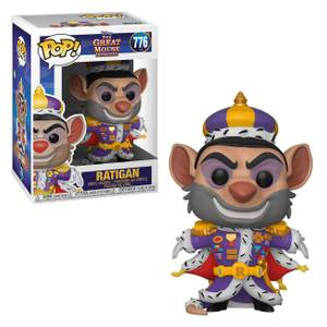 Figurine Pop! Ratigan - Basil, Détective Privé - Disney