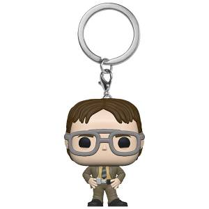 The Office - Dwight Schrute Pop! Portachiavi