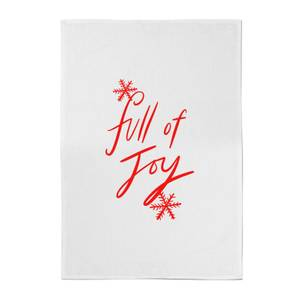 Full Of Joy Cotton Tea Towel