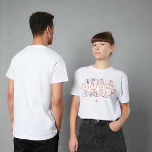 The Rise of Skywalker Logo Unisex T-Shirt - White