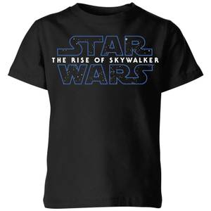The Rise of Skywalker Logo Kids' T-Shirt - Black