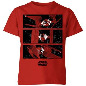 The Rise of Skywalker Tie Fighter Kids' T-Shirt - Red