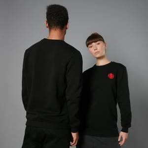 The Rise of Skywalker Sith Logo Embroidered Unisex Sweatshirt - Black