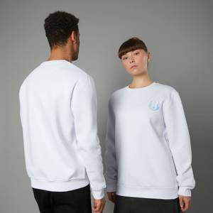 The Rise of Skywalker Jedi Logo Embroidered Unisex Sweatshirt - White