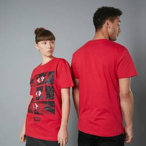 The Rise of Skywalker Tie Fighter Unisex T-Shirt - Red