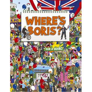 Where's Boris? Hardback Book