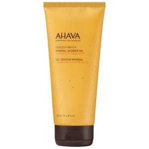 AHAVA Mineral Shower Gel Mandarin & Cedarwood 6.8 oz