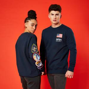 NASA Mission Unisex Sweatshirt - Navy