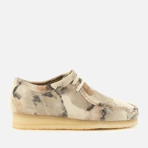 Clarks Originals Men's Wallabee Shoes - Off White Camo