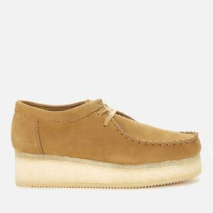 Clarks Originals Women's Wallacraft Low Nubuck Flatform Shoes - Oak