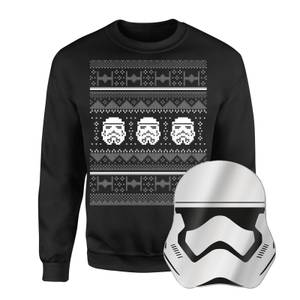 Star Wars Christmas Jumper And Mirror Bundle