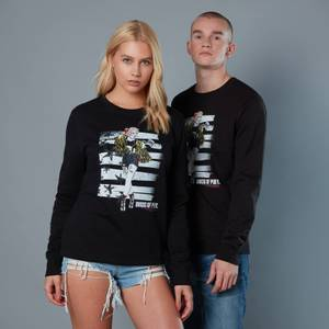 Harley Quinn Block Pannel Unisex Birds of Prey Sweatshirt - Black