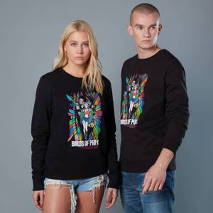 Girl Gang in Colour Circle Team Unisex Birds of Prey Sweatshirt - Black