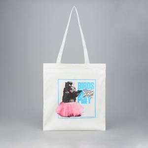 Tote Bag Stuffed Animal - Blanc