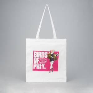 Harley Quinn Tote Bag- White