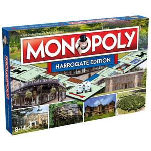 Monopoly Board Game - Harrogate Edition