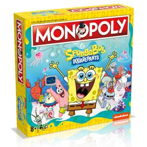 Monopoly Board Game - Spongebob Squarepants
