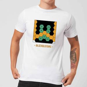 Blockbusters Stuck In The 80's Men's T-Shirt - White