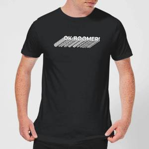 Ok Boomer Repeat Men's T-Shirt - Black