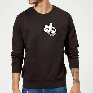 Ok Boomer Thumbs Up Sweatshirt - Black