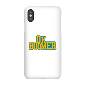 Ok Boomer College Phone Case for iPhone and Android