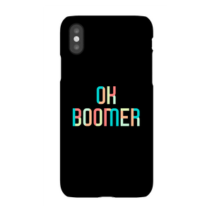 Ok Boomer Colourful Phone Case for iPhone and Android