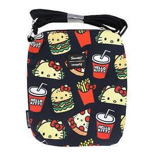 Loungefly Sanrio Hello Kitty Snacks Aop Passport Bag