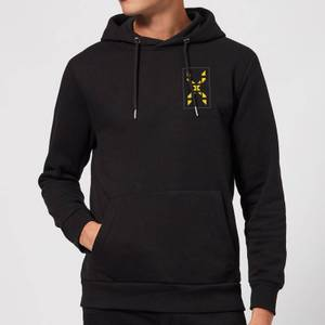 Family Fortunes Wrong Answer Pocket Print Hoodie - Black