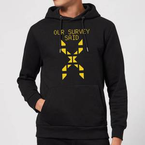 Family Fortunes Our Survey Said Hoodie - Black