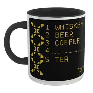 Family Fortunes Our Survey Said .... Whiskey Mug - White/Black
