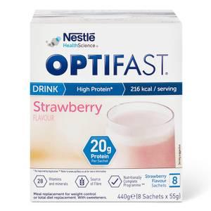 OPTIFAST Shakes - Strawberry - Box of 8