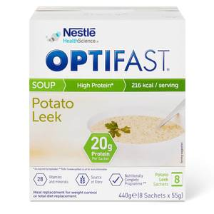 OPTIFAST Soup - Leek & Potato - Box of 8