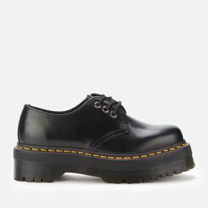 Dr. Martens 1461 Quad Leather 3-Eye Shoes - Black