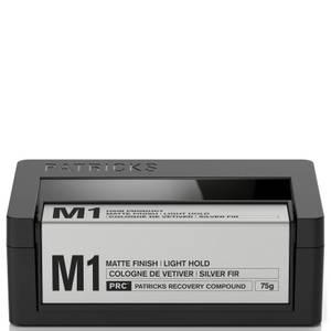 Patricks M1 Matte Finish Light Hold Styling Product 75g
