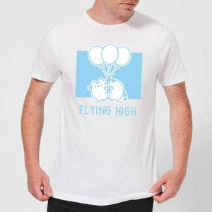 Pusheen Flying High Men's T-Shirt - White
