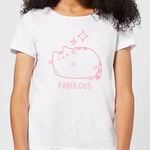 Pusheen Fabulous Wink Women's T-Shirt - White