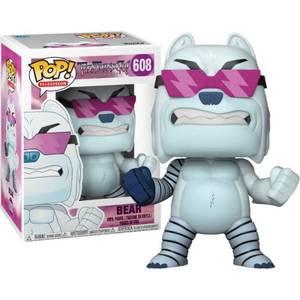 Teen Titans Go! Bear Flocked EXC Pop! Vinyl Figure