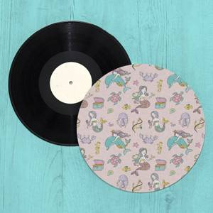 Mermaid Princess Turntable Slip Mat