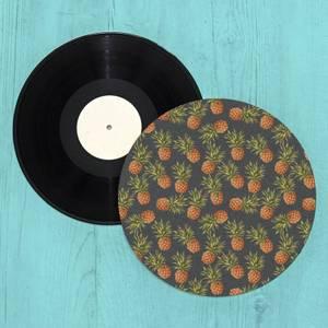 Pineapples Turntable Slip Mat