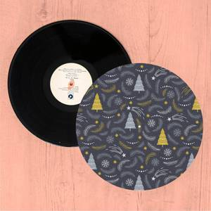 Trees And Leaves Turntable Slip Mat