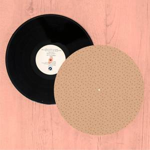 Peachy Dots Turntable Slip Mat
