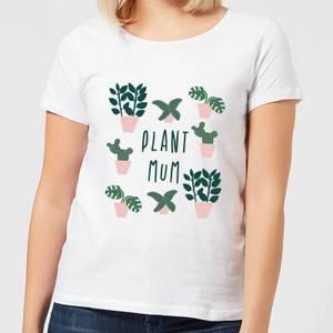 Plant Mum Women's T-Shirt - White