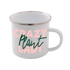 Crazy Plant Lady Enamel Mug
