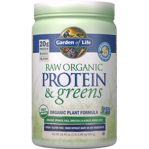 Raw Organic Protein and Greens - Vanilla - 548g