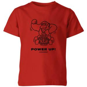 Power Up! Kids' T-Shirt - Red