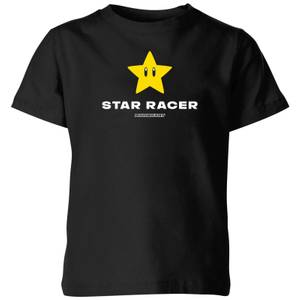 Star Racer Kids' T-Shirt - Black