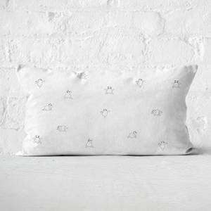 Panda Yoga Rectangular Cushion